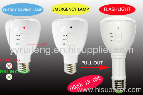 three in one led round bulb 4w high power led lamp