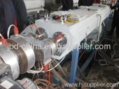 20-50mm PVC double pipe extrusion line