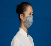 3 PLY non woven activated carbon face mask with earloop