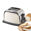 Stainless Steel Toaster with Variable Electronic Timing Control