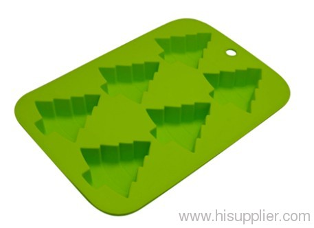 Custom shape silicon cube ice tray kitchen tool wholesale