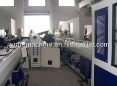 PE HDPE LDPE pipe making machine