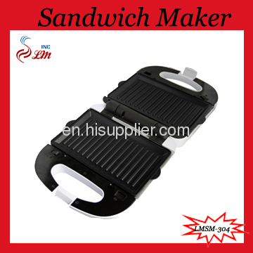2 In 1 Sandwich Maker,Safety Thermal Cut-out And Thermo Fuse