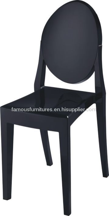 Fashion Victoria ghost side chairs