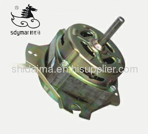 AC motor for washing machine and spin