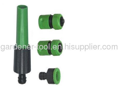 20M 1/2PVC Reinforced Garden Water Hose With 2-Function Garden Water Nozzle Set