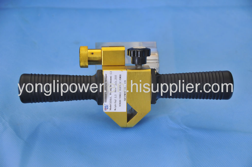 Cross linked polythene electric power XLPE cable insulator sharpener