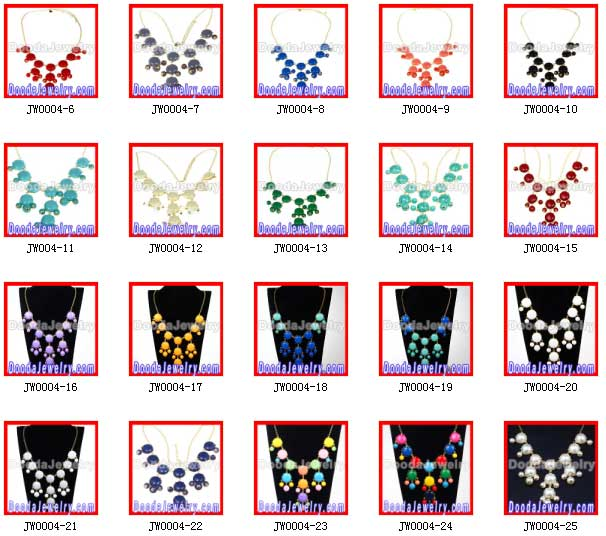 2013 colorful Multi-Layer Chunky Statement Necklace Wholesale