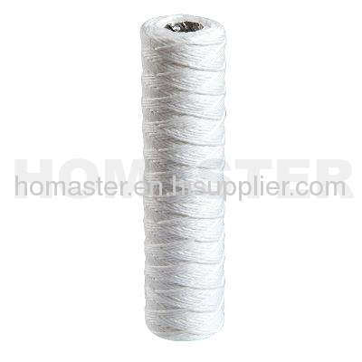 Cotton String Wound Water Filter Cartridge 10 inch