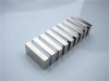 Block NdFeB magnet with zinc coating