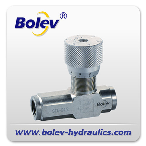 BSP hydraulic throttle check valve