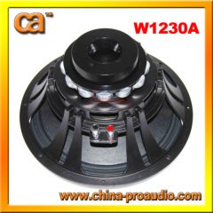 12inch audio woofer low frequency transduces
