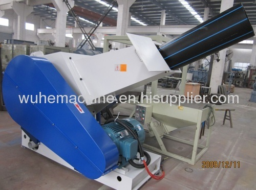 plastic PPPEPVCPPRABS pipe crusher