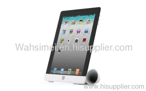 Very good silicone horn for ipad in exist mold