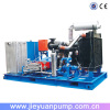 Diesel engine high pressure cleaning machine
