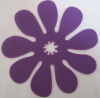 silicone Purple Water-proof dining mat