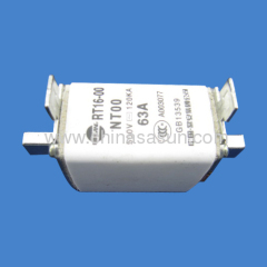 Type. NH low voltage H. R. C fuse