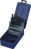 5pcs DIN338 HSS Forged Twist Drill Set with Metal Case