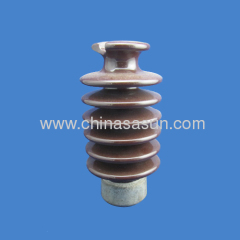 High Voltage Post Pin porcelain insulator (BS)