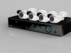 New Home security system--4ch H.264 Economical DVR Kit with 600tvl CCTV camera
