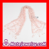 Fashion European Cotton Pashmina Tassel Lace Scarves Wholesale For Women