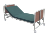 Electric bed with five function common style