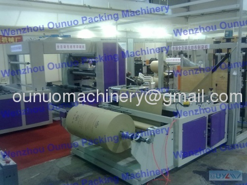 Self Stand up Non-woven Bag Making Machinery Manufacturer