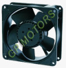 Metal AC Axial Fan with ball bearing extra rotor motor for ventilation