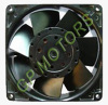 120*38 metal AC Axial Fan with ball bearing and high speed for cooling