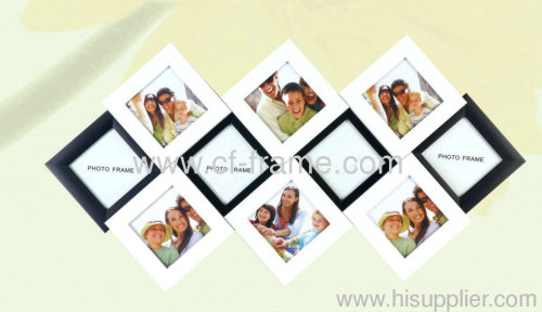 10-opening PS collage photo frames black and white
