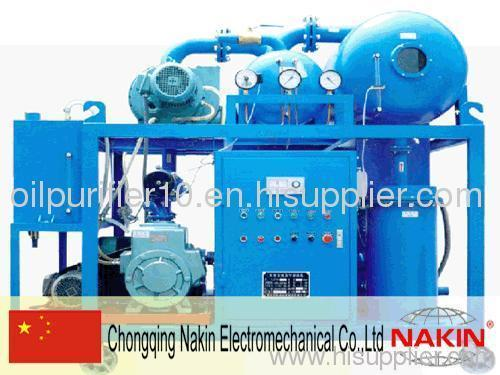 Series ZYD Double-stage vacuum transformer oil recycling
