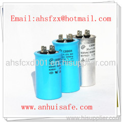 AC motor capacitor for washing machine with UL CE ISO approved