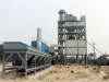 SAP120asphalt batch mix plant