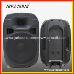 10inch portable plastic moled cabinet speaker box