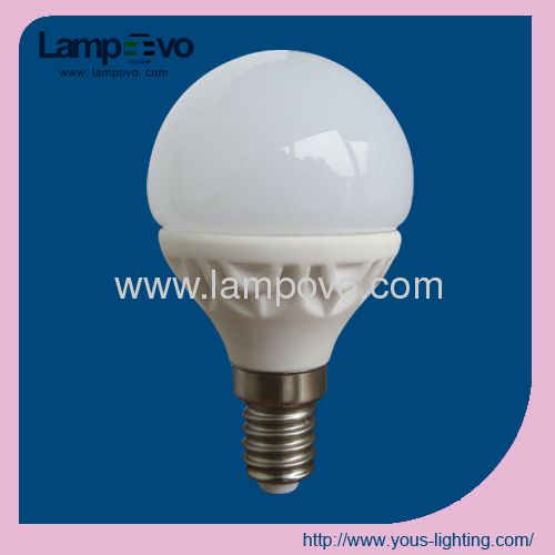 LED bulb light E14 4W G45 SMD2835