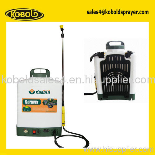 16l electric pump sprayer