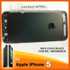 Metal iPhone 5 Back Cover Housing with Middle Frame Bezel - Black