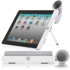 Silicone ipad horn new arrival speaker for ipad