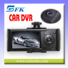 Dual Lens Vehicle DVR Car Camera DVR Video Recorder & G-sensor