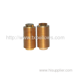 COPPER BELLOWS used for measuring instrument