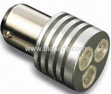3W BA15D 3W led car light