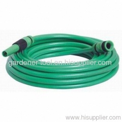 PVC Garden Water Hose With Nozzle Set