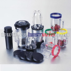 Personal food emulsifier blender