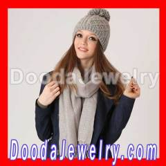 Simple Winter Knitted Wool Hat Patterns for Women 2012
