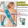 back scrubber magnetic massage Dual Sided Back Scrubber Cleans and Massages