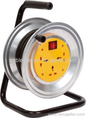 Electric Cable reel with 13A British plug
