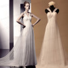Real wedding dress pictures-Straps Tulle wedding dresses