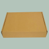 Corrugated carton box without printed