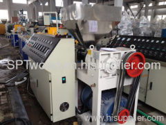 EXTRUDERS PE pipe production line for extrusion PE tube