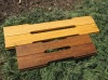 Strand woven bamboo horse stable plank